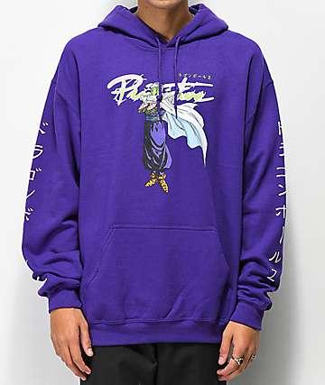 Primitive x Dragon Ball Z Nuevo Piccolo Purple Hoodie