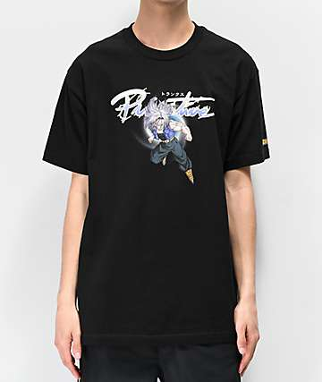 Primitive x Dragon Ball Z Nuevo Trunks Black T-Shirt