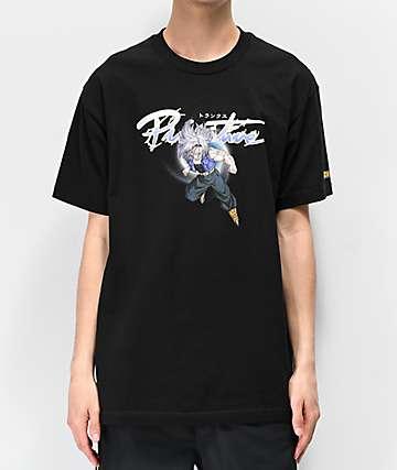 Primitive x Dragon Ball Z Nuevo Trunks Black T-Shirt