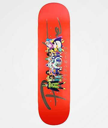 "Primitive x Dragon Ball Z Nuevo Villains 8.25"" Skateboard Deck"