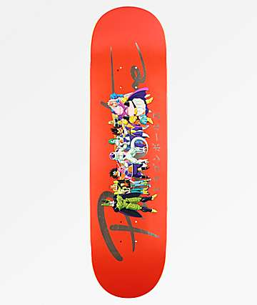 "Primitive x Dragon Ball Z Nuevo Villains 8.5"" tabla de skate"