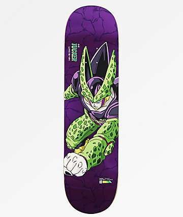 "Primitive x Dragon Ball Z Perfect Cell Tucker 8.25"" Skateboard Deck"