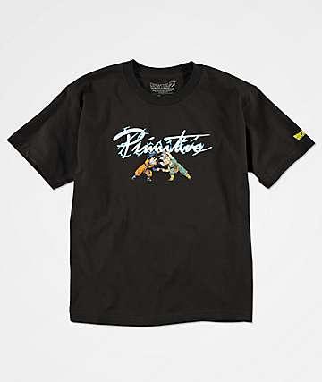 Primitive x Dragon Ball Z Power camiseta negra para niños
