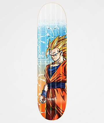 "Primitive x Dragon Ball Z Rodriguez Goku Power Level 8.12"" Skateboard Deck"