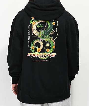 Primitive x Dragon Ball Z Shenron Black Hoodie