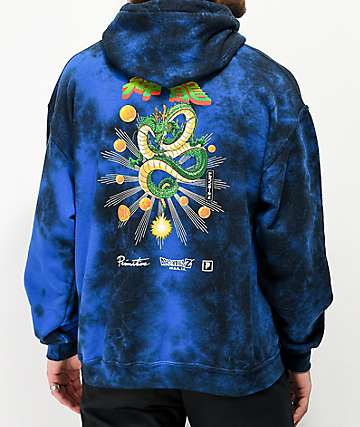 8c55cd53fa Primitive x Dragon Ball Z Shenron Blue Wash Hoodie