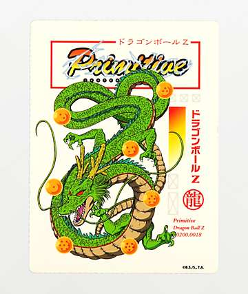 Primitive x Dragon Ball Z Shenron Club Sticker