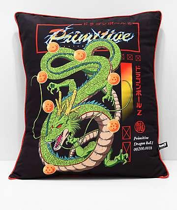 Primitive x Dragon Ball Z Shenron Throw Pillow