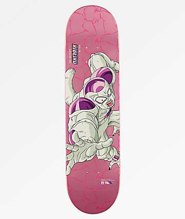 "Primitive x Dragon Ball Z Super Saiyan Frieza Ribeiro Reflective 8.1"" Skateboard Deck"