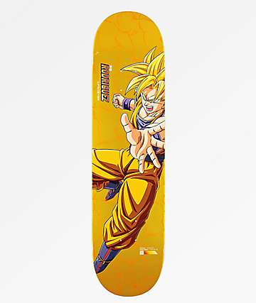 "Primitive x Dragon Ball Z Super Saiyan Goku P Rod 8.0"" tabla de skate"