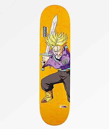 """Primitive x Dragon Ball Z Super Saiyan Trunks Najera 8.0"""" tabla de skate"""