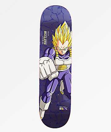 "Primitive x Dragon Ball Z Super Saiyan Vegeta McClung 8.25"" tabla de skate"