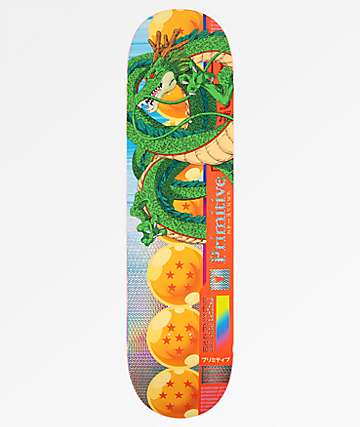 "Primitive x Dragon Ball Z Team Shenron 7.8"" tabla de skate"