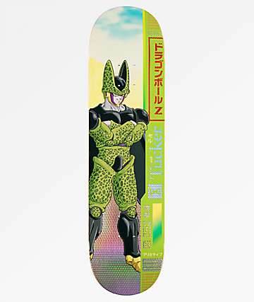 "Primitive x Dragon Ball Z Tucker Cell 8.0"" tabla de skate"