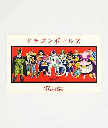 Primitive x Dragon Ball Z Villains Sticker