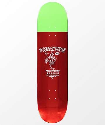 """Primitive x Huy Fong Rodriguez 8.0"""" tabla de skate metalizada"""