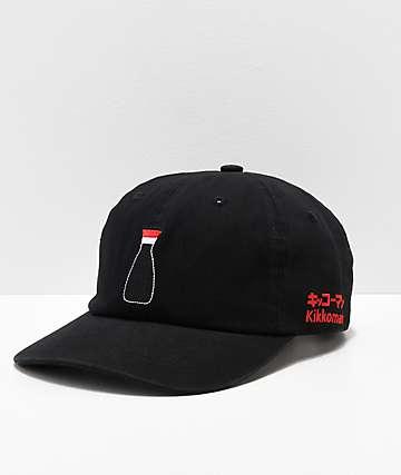 Primitive x Kikkoman Black Strapback Hat