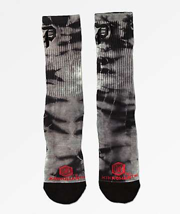 Primitive x Kikkoman Bottle Tie Dye Crew Socks