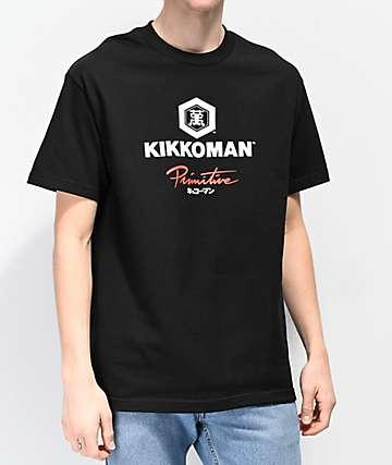 Primitive x Kikkoman Sauce Black T-Shirt
