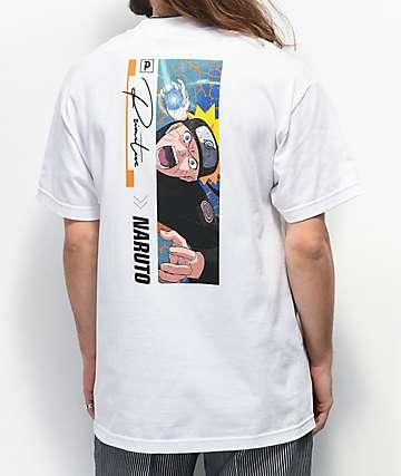 Primitive x Naruto Combat White T-Shirt
