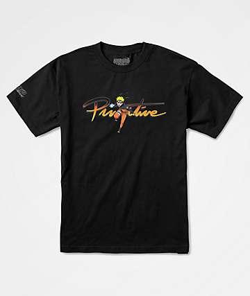 Primitive x Naruto Nuevo Black T-Shirt