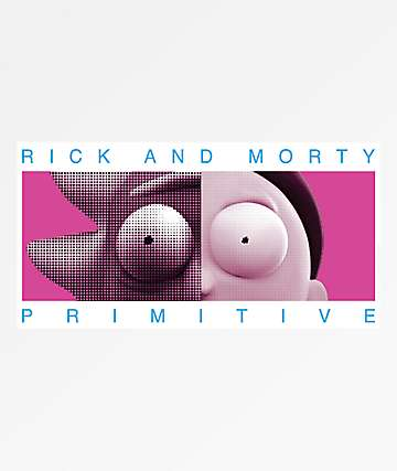 Primitive x Rick & Morty Cranium Sticker
