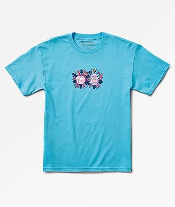 Primitive x Rick & Morty Dirty P Light Blue T-Shirt