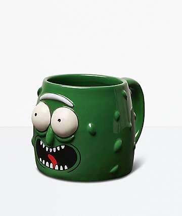 Primitive x Rick And Morty Pickle Rick Green Mug