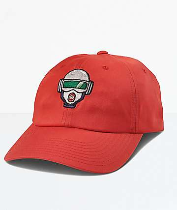 Primitive x Rick and Morty Gwen Red Dad Hat