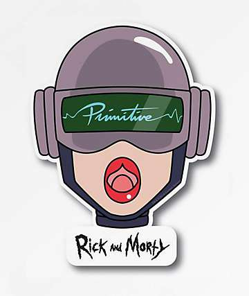 Primitive x Rick and Morty Gwendolyn Head Sticker