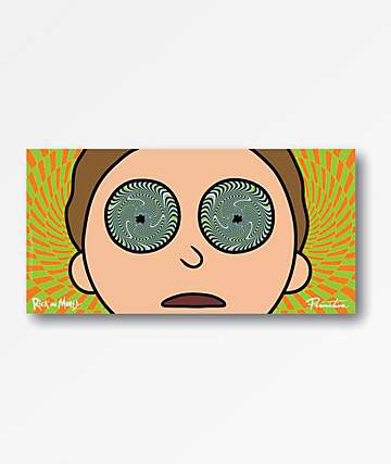 Primitive x Rick and Morty Morty Hypno Sticker