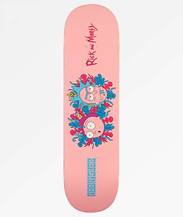 "Primitive x Rick and Morty PRod 8.0"" Skateboard Deck"