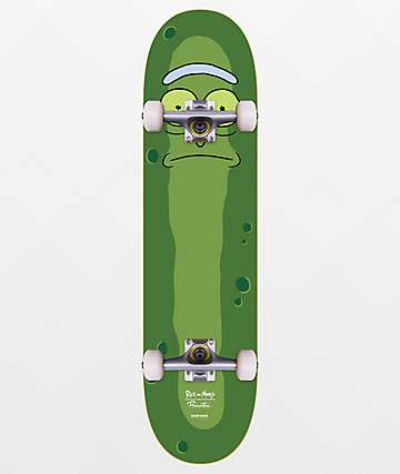"Primitive x Rick and Morty Pickle Rick 8.0"" Skateboard Complete"