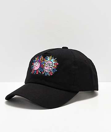 Primitive x Rick and Morty gorra negra