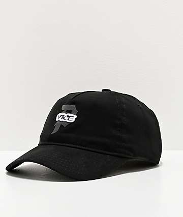Primitive x Vice Black Strapback Hat