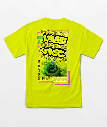 Primitive x Vice Magazine Program Green T-Shirt