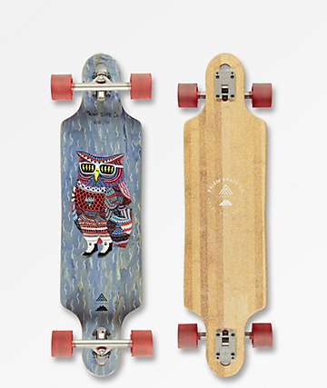 "Prism Revel Mulga Series 36"" Drop Through longboard completo"