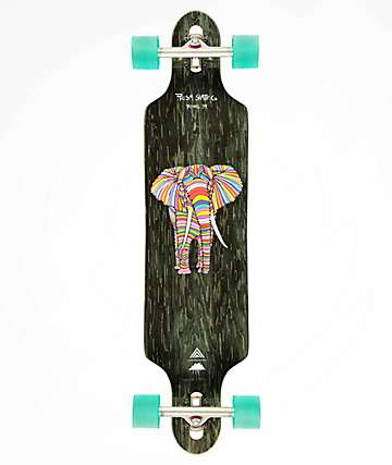 "Prism Revel Mulga Series 39"" Drop Through longboard completo"