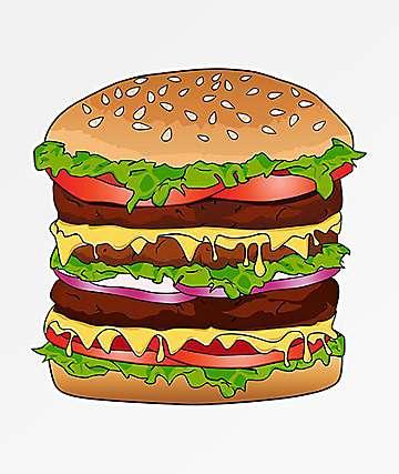 Pro & Hop Big Burger Sticker