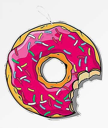 Pro & Hop Donut Mint Air Freshener