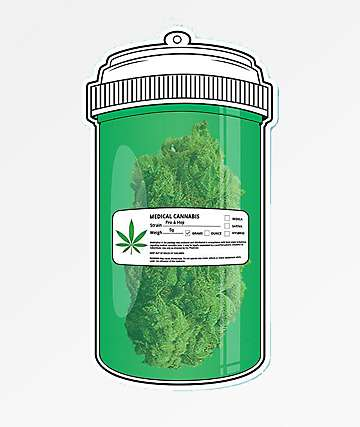 Pro & Hop Medical Container Sticker