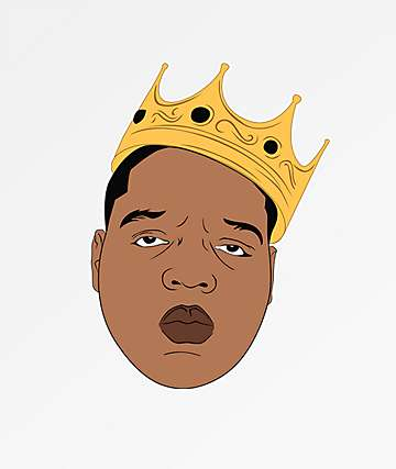 Pro & Hop Rapper Crown Sticker
