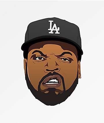 Pro & Hop Rapper Face Sticker