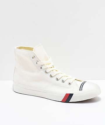Pro-Keds Royal Hi Classic White Shoes