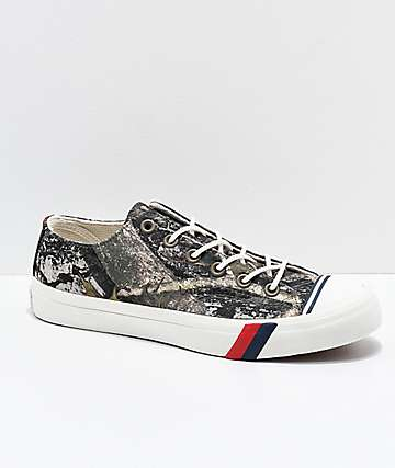Pro-Keds Royal Lo Timber Camo Shoes