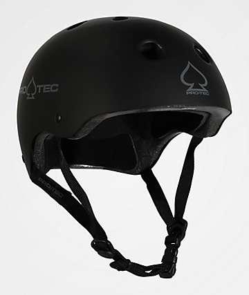 Pro-Tec CPSC Classic Matte Black Skate Helmet