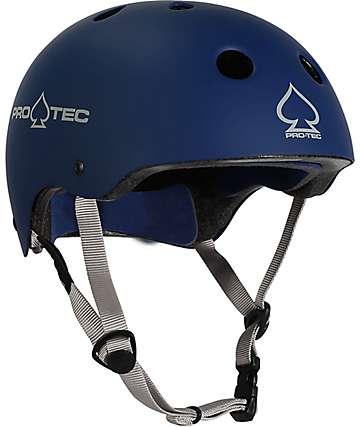 Pro-Tec Classic casco certificado por CPSC en azul