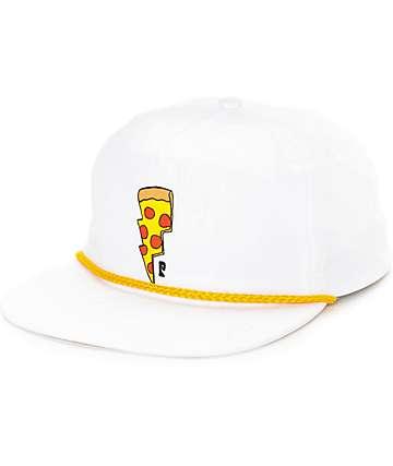 Psockadelic Doughnut White Snapback Hat