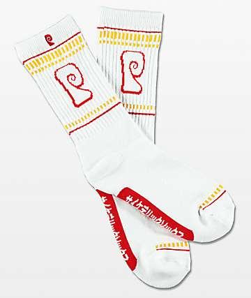 Psockadelic Ramen Chicken Scented Crew Socks