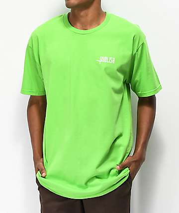 Publish Logo Tee Lime T-Shirt